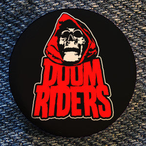 "Doomriders ""Red Reaper"" Button"