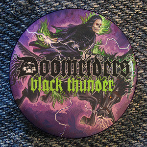 "Doomriders ""Black Thunder"" Button"
