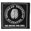 "Dropdead ""Brain"" Silkscreened Patch"
