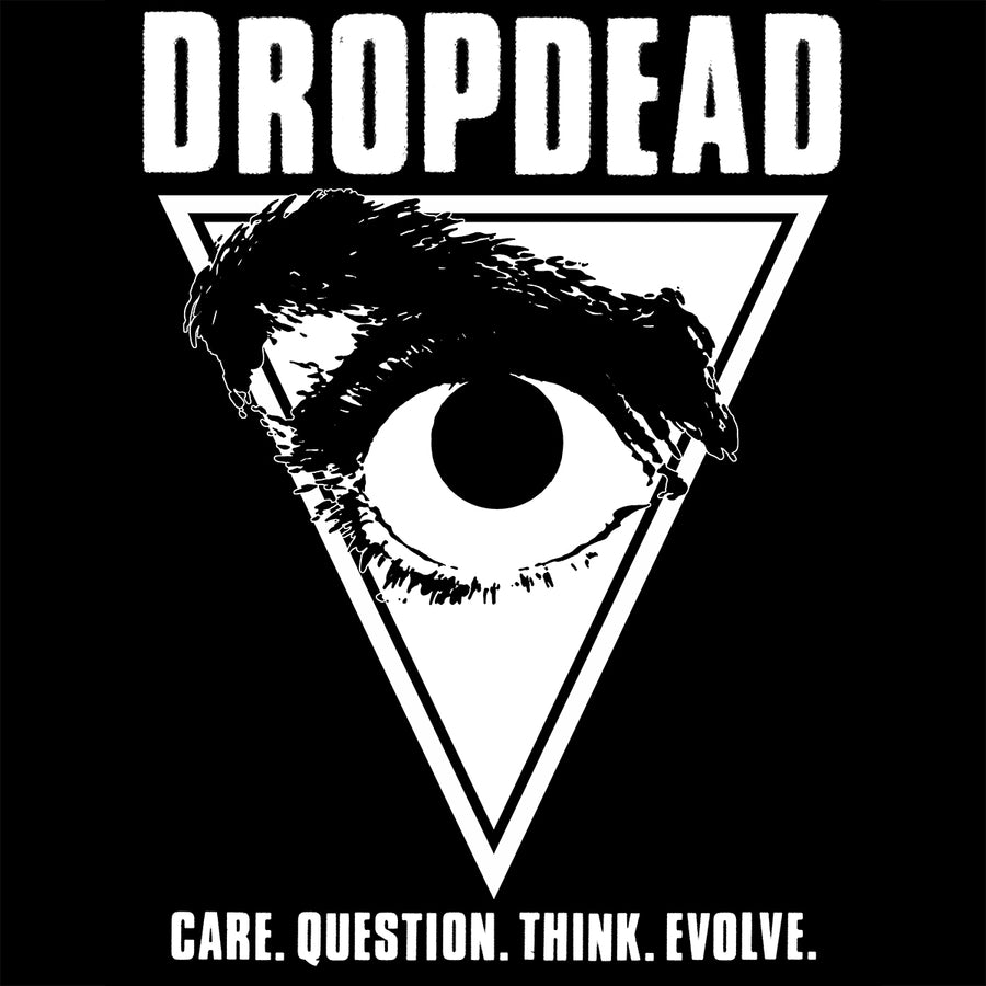 "Dropdead ""Eye"" Silkscreened Patch"