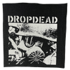 "Dropdead ""Gas Mask"" Silkscreened Patch"