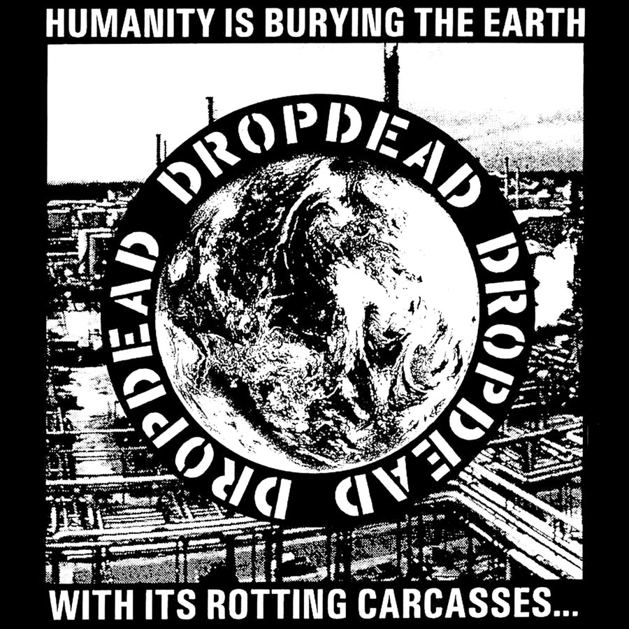 "Dropdead ""Humanity"" Silkscreened Patch"