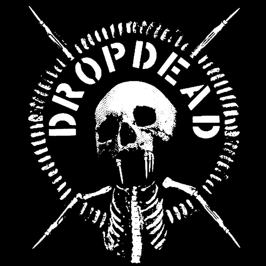 "Dropdead ""Skull"" Silkscreened Patch"