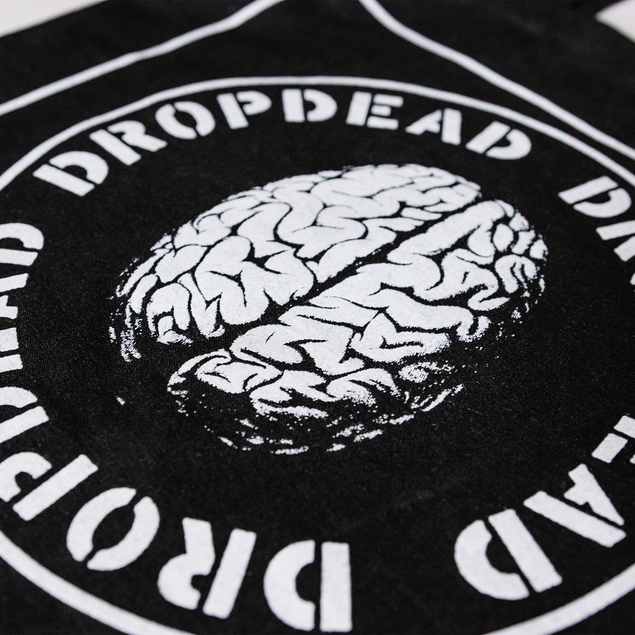 "Dropdead ""Brain"" Tote Bag"