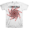 "Converge ""Snakes"" White T-Shirt"