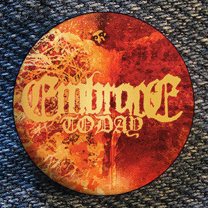 "Embrace Today ""Crucified"" Button"