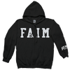 "Faim ""Logo"" Black Zip-Up Sweatshirt"