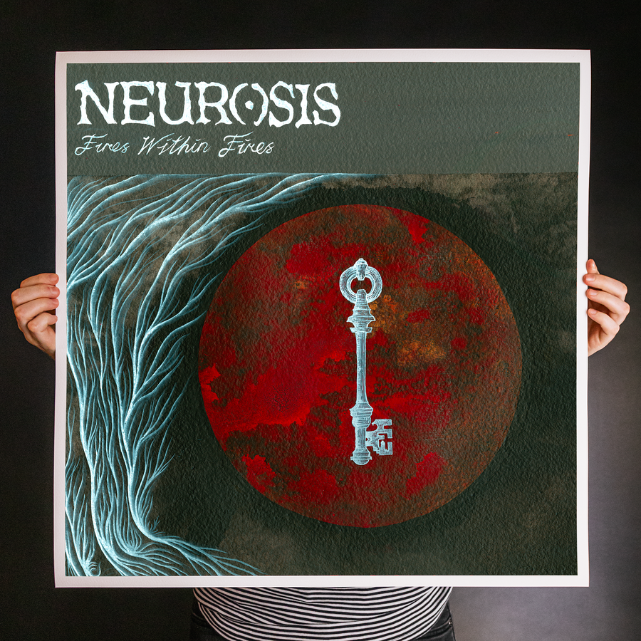 "Neurosis ""Fires Within Fires"" Giclee Print"