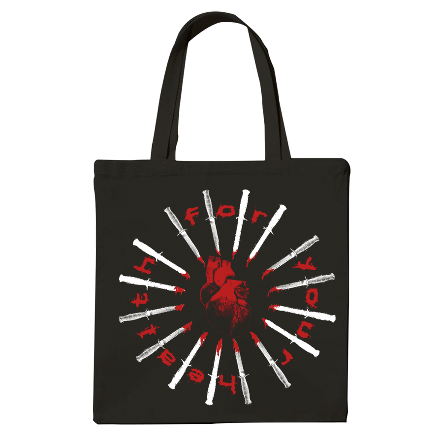 "For Your Health ""Heart"" Tote Bag"