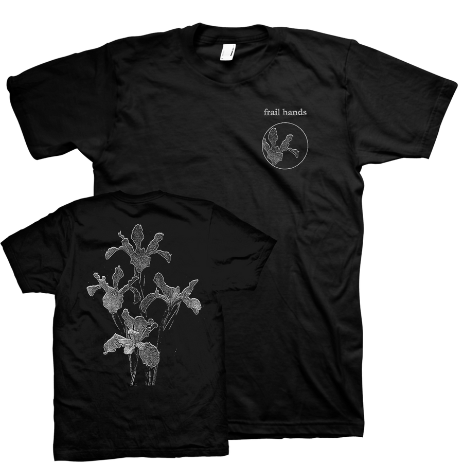 "Frail Hands ""parted/departed/apart"" Black T-Shirt"