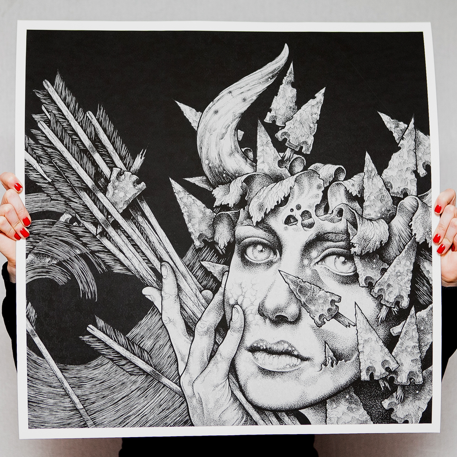 "Cursed ""III: Architects of Troubled Sleep"" Giclee Print"