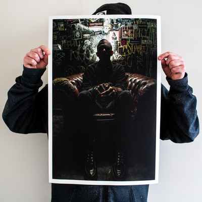 "Nick Sayers ""J. Bannon w/ Wear Your Wounds"" Giclee Print"