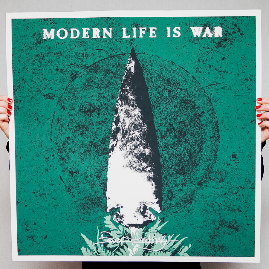 "Modern Life Is War ""Fever Hunting"" Giclee Print"