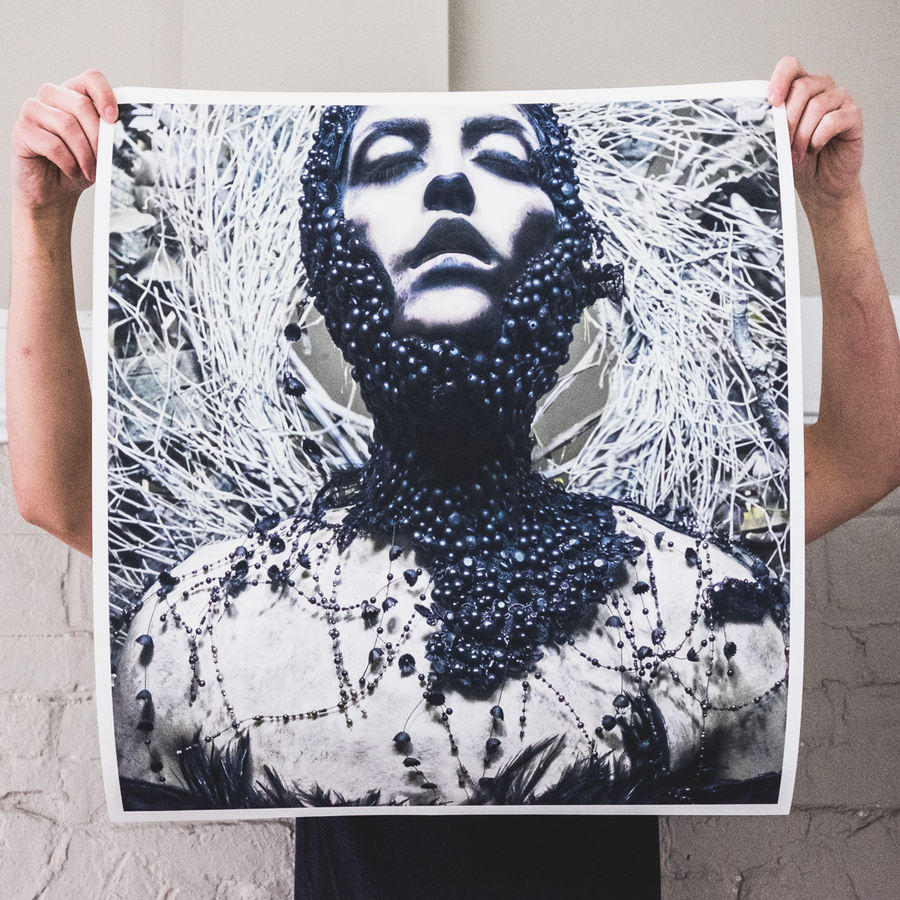 "Converge x Ashley Rose Couture ""Jane Live"" Giclee Print"