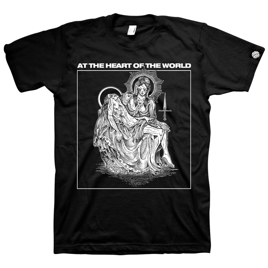 "At The Heart Of The World ""Martyr"" Black T-Shirt"