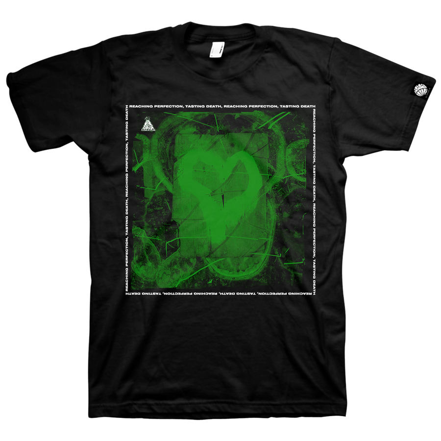 "At The Heart Of The World ""R. P. T. D."" Black T-Shirt"