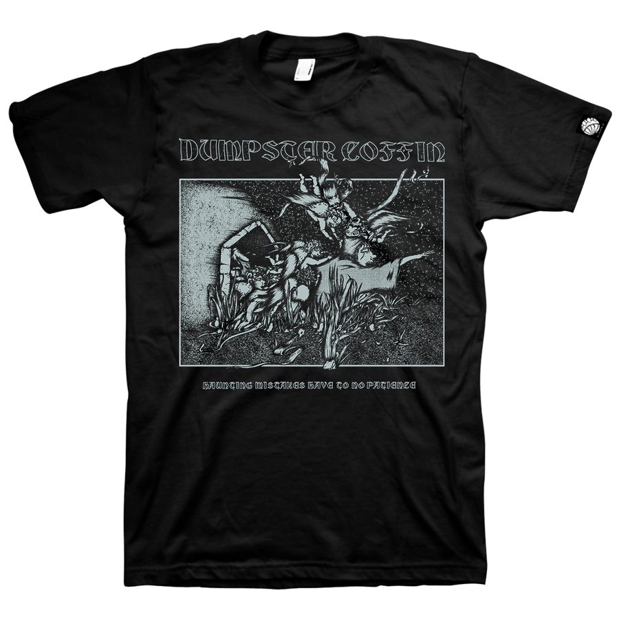 "Dumpster Coffin ""Album Cover"" Black T-Shirt"