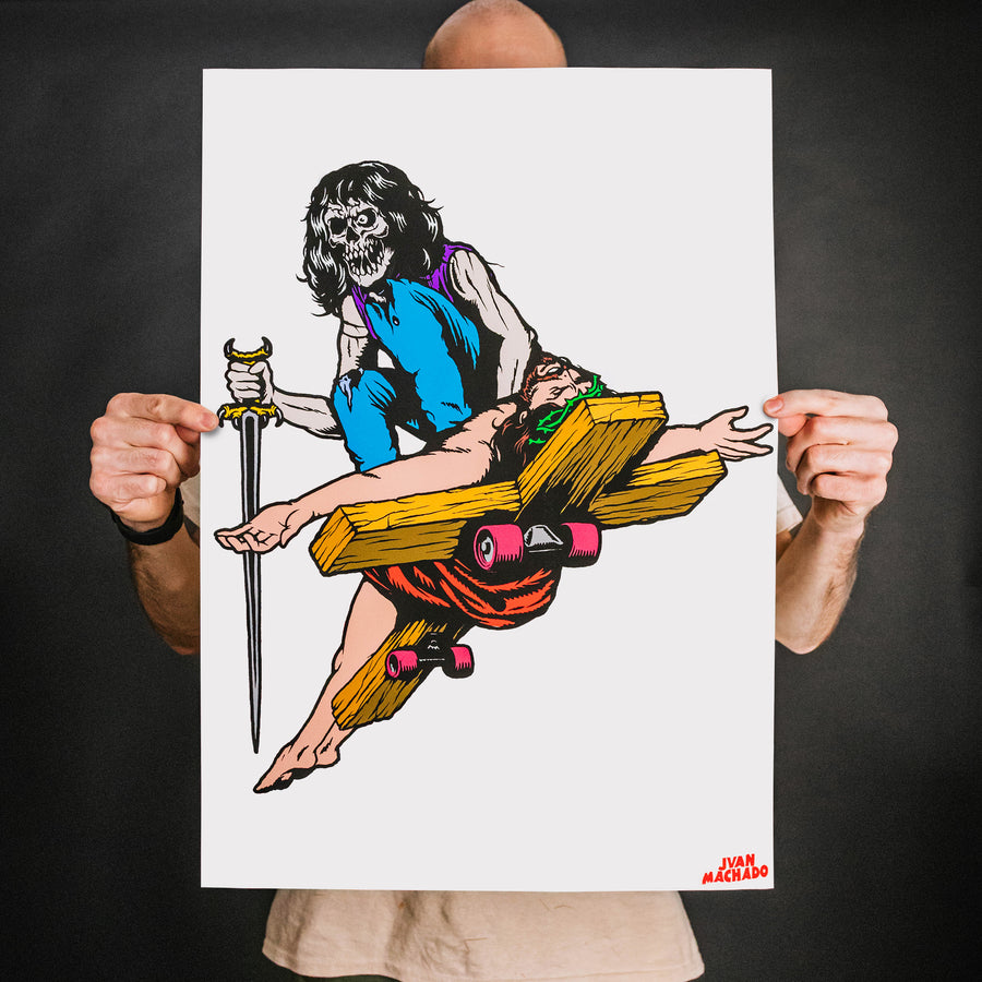 "Juan Machado ""God Hates Us All: OG Edition"" Giclee Print"