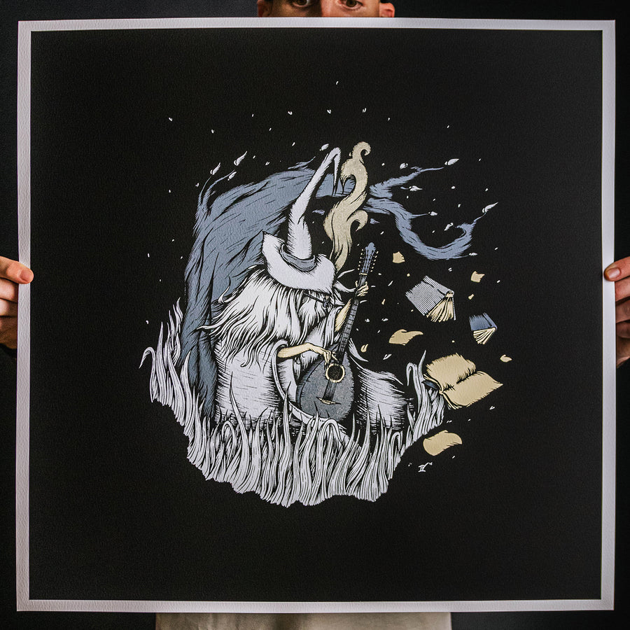 "Andrew Gomez IV ""Even The Wise Cannot See All Ends"" Giclee Print"