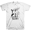 "Gouge Away ""Dance"" White T-Shirt"