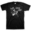"Gouge Away ""Live Logo"" Black T-Shirt"