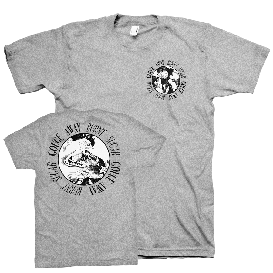 "Gouge Away ""Burnt Sugar Pocket"" Grey T-Shirt"