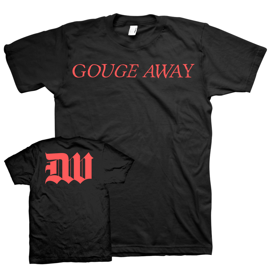 "Gouge Away ""Logo"" Black T-Shirt"