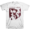 "Gouge Away ""Burnt Sugar Cover"" White T-Shirt"
