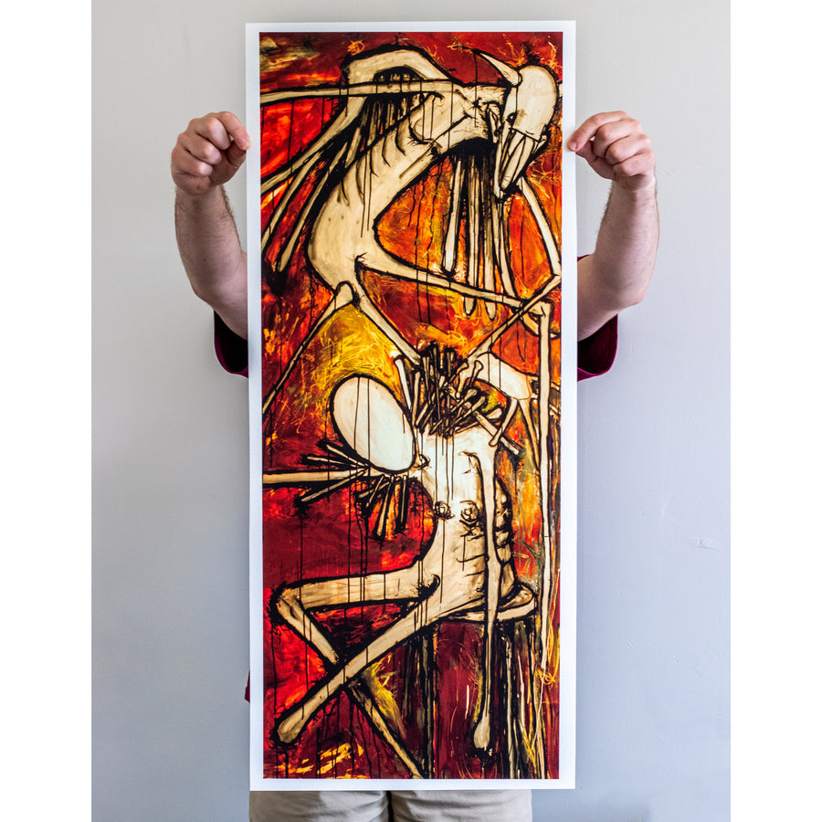 "Converge ""Petitioning The Empty Sky"" Giclee Print"