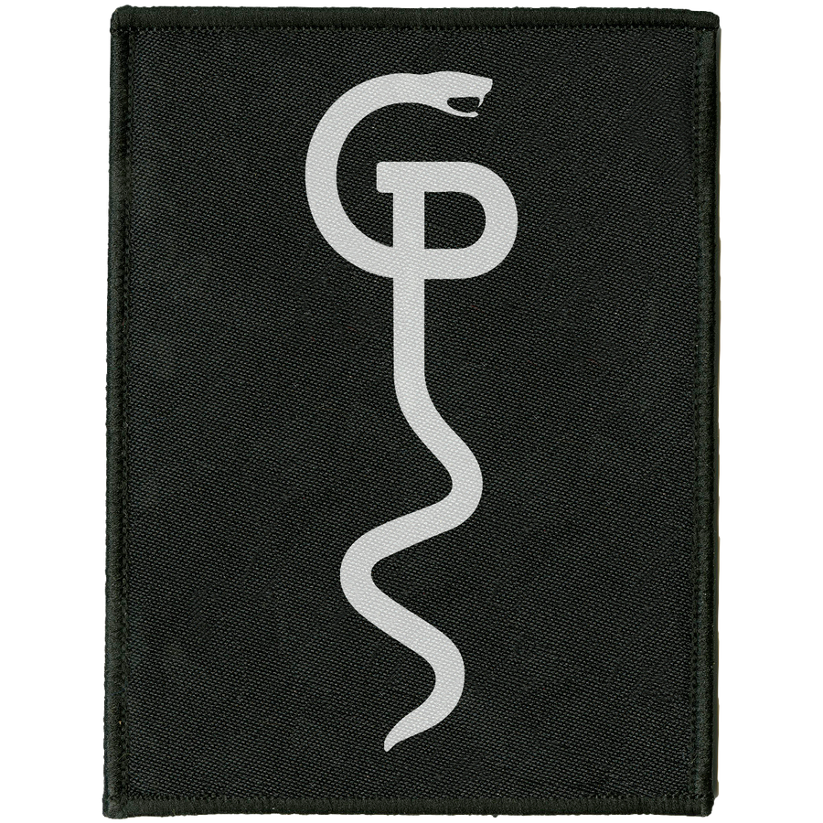 "Grave Pleasures ""Snake"" Embroidered Patch"