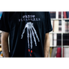 "Grave Pleasures ""Skeleton Hand"" Black T-Shirt"