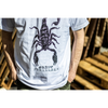 "Grave Pleasures ""Scorpion"" White T-Shirt"