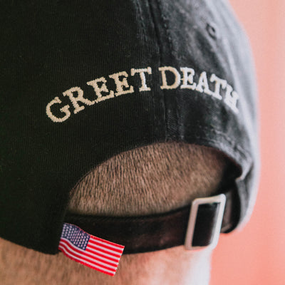 "Greet Death ""Axe"" Hat"