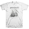 "Groundwork ""TV Boy"" White T-Shirt"