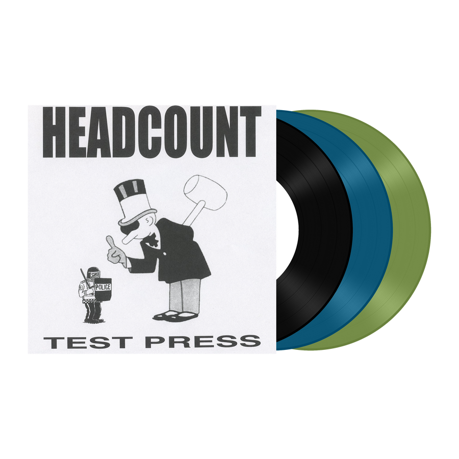 "Headcount ""Self Titled Demo"" Test Press Bundle"