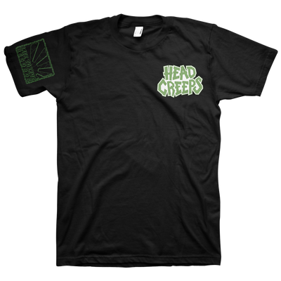 "Head Creeps ""Pocket Logo"" Black T-Shirt"