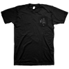 "Heavy Heavy Low Low ""Pocket Logo"" Black T-Shirt"