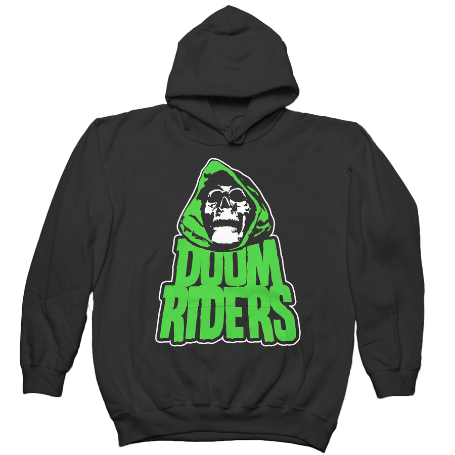 "Doomriders ""Green Reaper"" Hooded Sweatshirt"