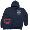 "Mindset ""Straight Edge Varsity"" Navy Sweatshirt"