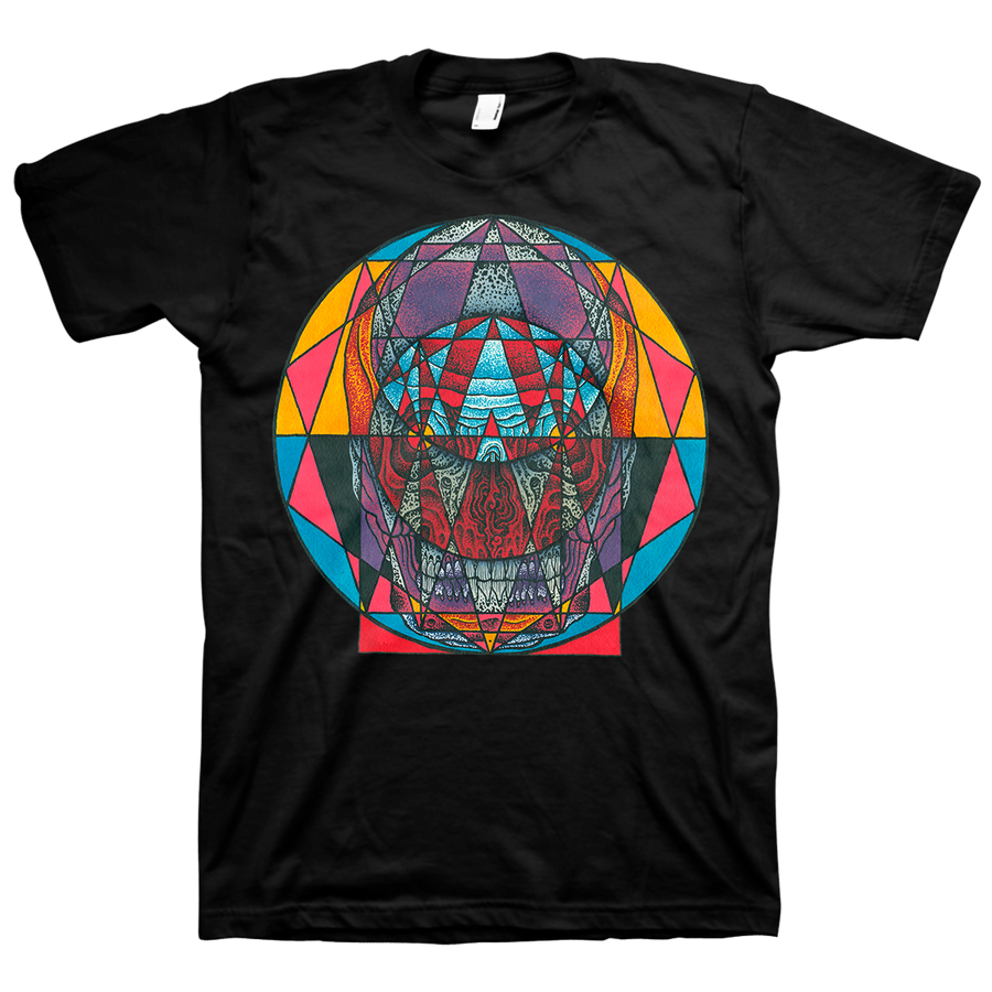 "Thomas Hooper ""Angular Doorway"" Black T-Shirt"