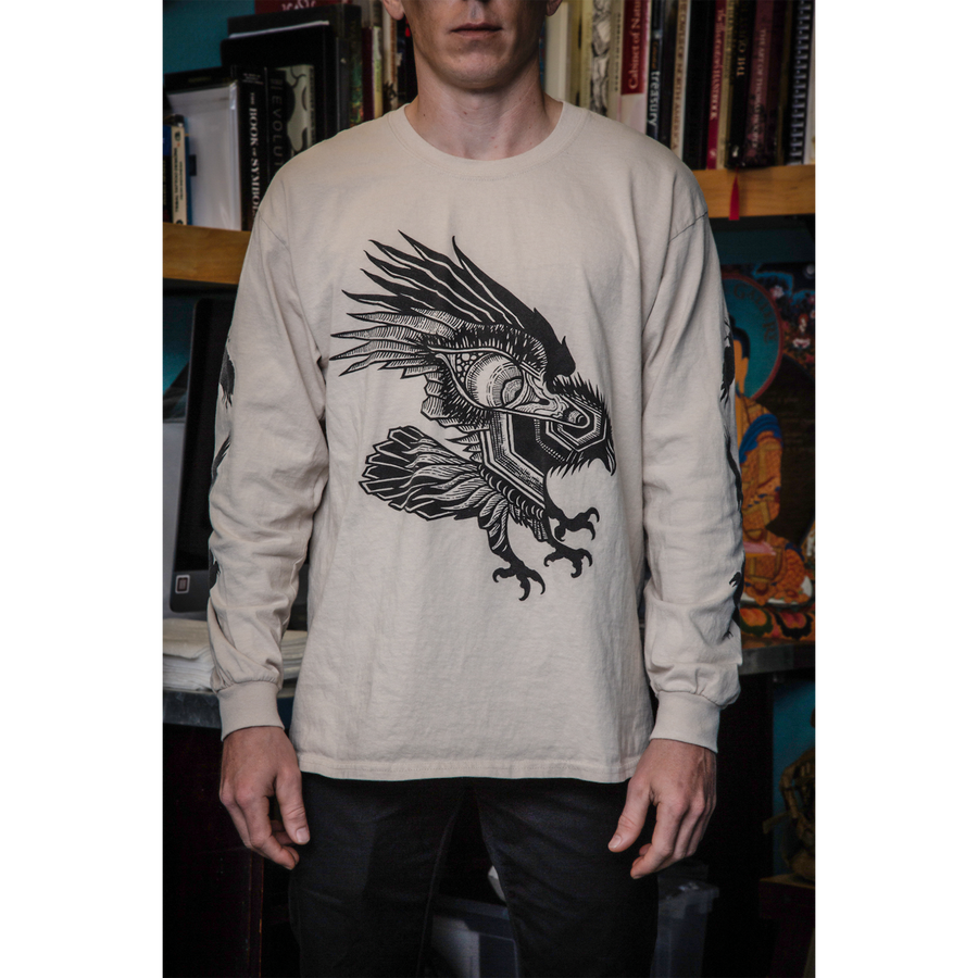 "Thomas Hooper ""Flight and Vision"" Natural Longsleeve"