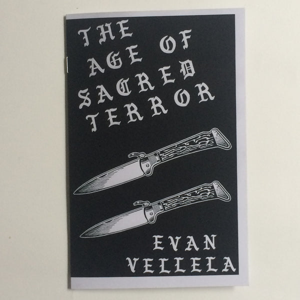 "Evan Vellela ""The Age Of Sacred Terror"""
