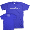 "Insist ""Logo"" Blue T-Shirt"