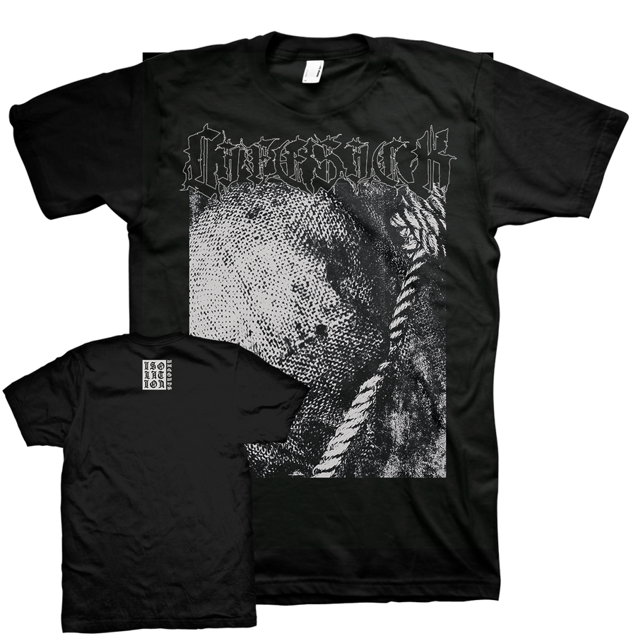 "Lifesick ""Swept In Black"" Black T-Shirt"