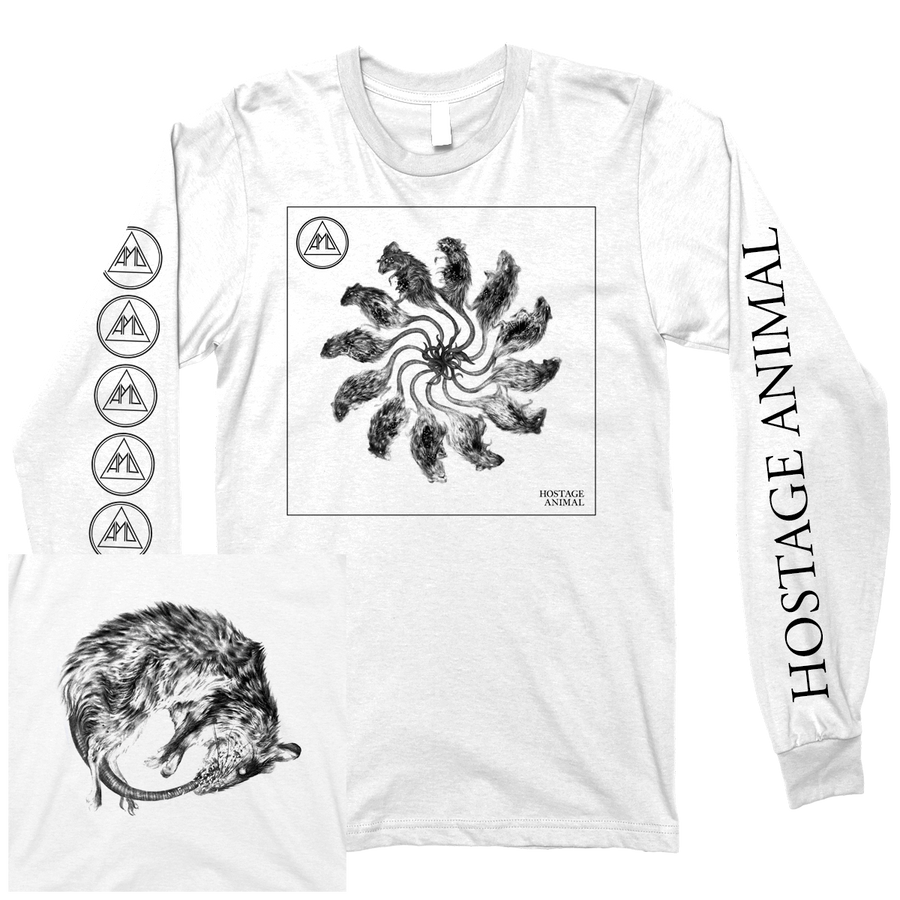 "All Pigs Must Die ""Hostage Animal"" White Longsleeve"