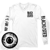 "Blacklisted ""Eye For An Eye"" White Longsleeve"