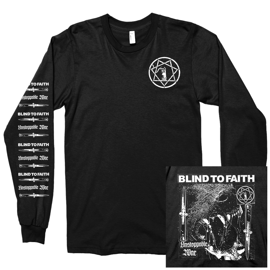 "Blind To Faith ""Unstoppable War"" Longsleeve"
