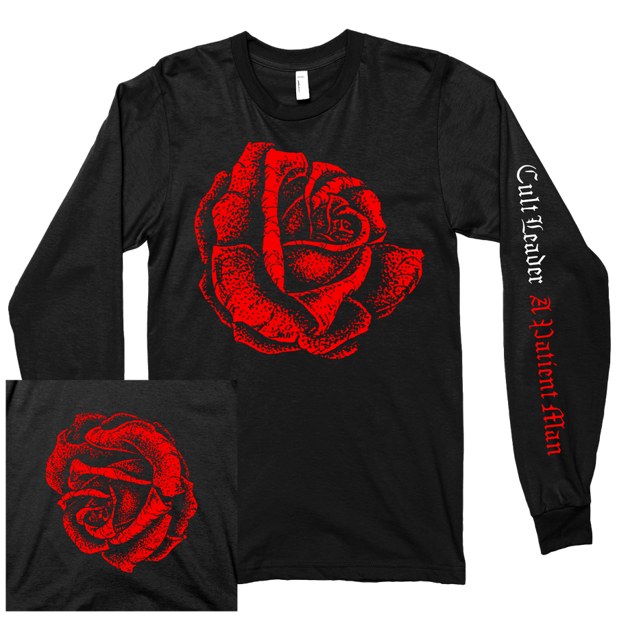"Cult Leader ""Rose"" Black Longsleeve"