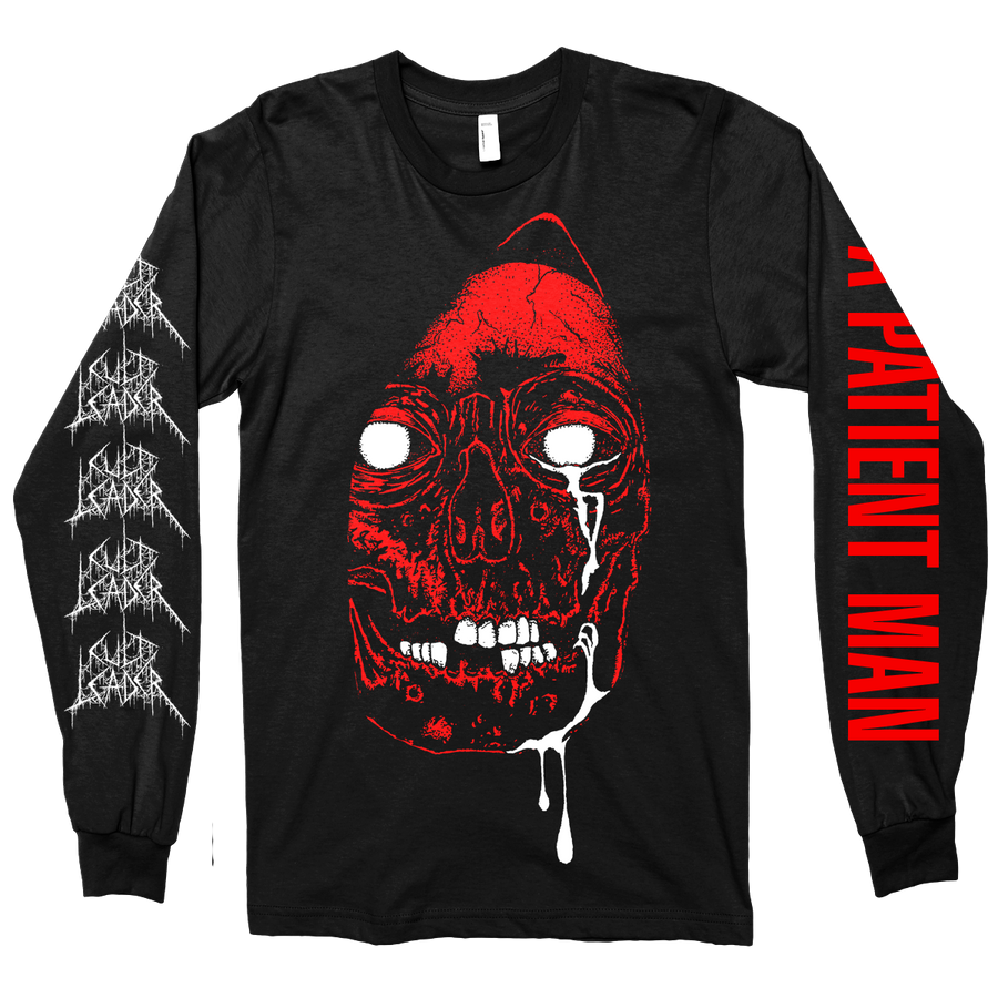 "Cult Leader ""A Patient Man"" Black Longsleeve"