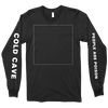 "Cold Cave ""Oceans With No End"" Black Longsleeve"